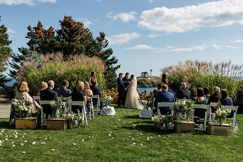 Scenic Outdoor Wedding Venue on the Water in York, Maine