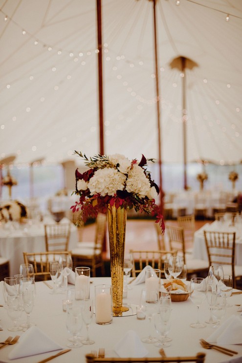 Sperry Tent Seacoast at The ViewPoint Hotel. Tented wedding reception ideas
