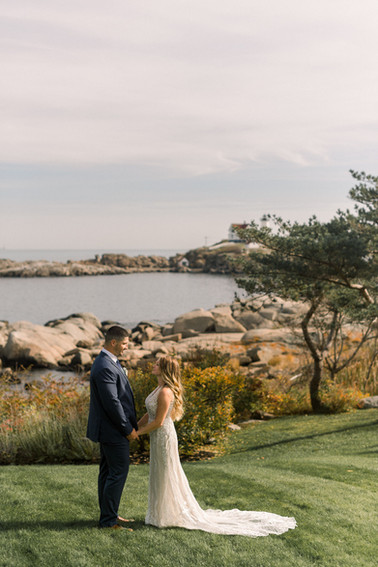 Waterfront New England Elopement