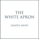 The White Apron Sample Wedding Menu