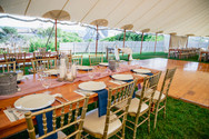 Waterfront Wedding Venue with Tented Reception