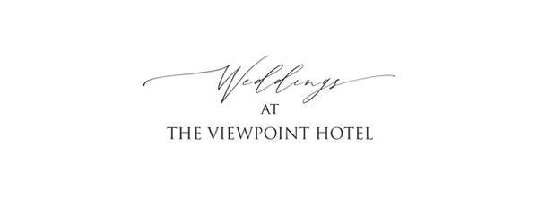 Weddings at The ViewPoint Hotel