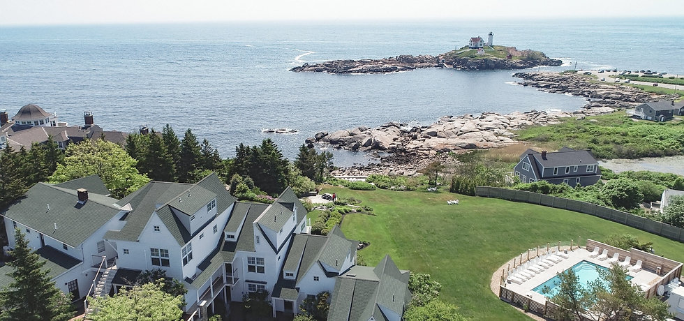 Overlooking Nubble Lighthouse, The ViewPoint Hotel is the perfect year-round York Beach vacation