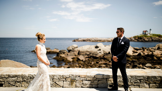 ViewPoint Hotel Wedding | Nubble Lighthouse in York, Maine
