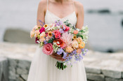 F as in Flowers   Summer Pink Wedding Bouquet   The ViewPoint Hotel