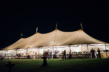 Maine Wedding Tents | Sperry Tents Seacoast at The ViewPoint Hotel