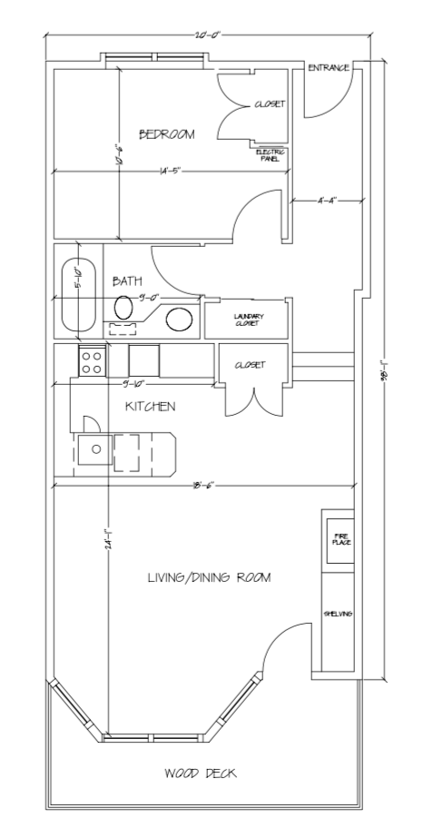The ViewPoint Hotel | Suite 103 Plan
