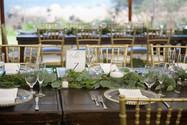 Outdoor Wedding Reception, Maine