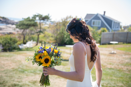 Sunflower Wedding Bridal Bouquet
