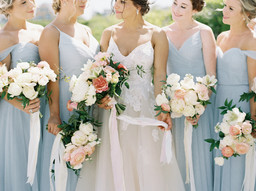 Field Floral Studio Wedding Bouquets, Oceanview Wedding Venue in New England, The ViewPoint Hotel