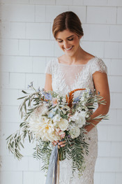 Unique Wedding Bridal Bouquet at The ViewPoint Hotel