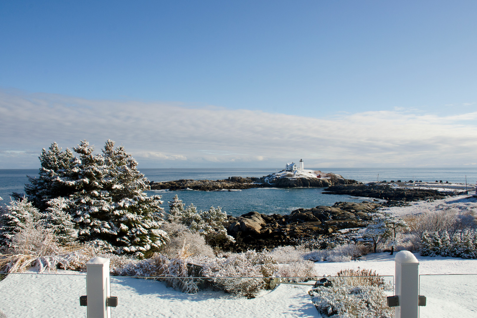 Year-Round Hotel in York, Maine Overlooking Nubble Lighthouse