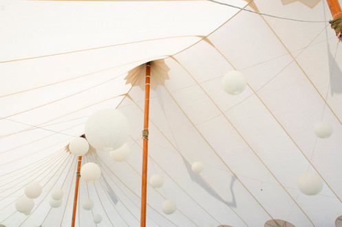 Sperry Tents Seacoast Lantern Lighting | Tented Reception in York, Maine