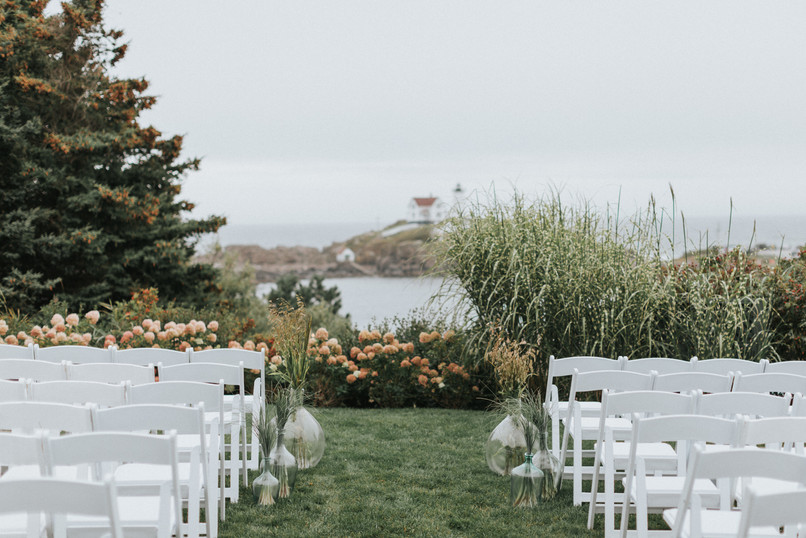 ViewPoint Hotel Wedding Ceremony at Nubble Lighthouse