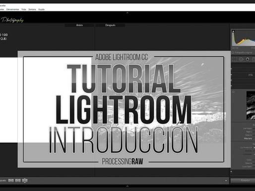 Curso completo Adobe  Lightroom. Por ProcessingRAW