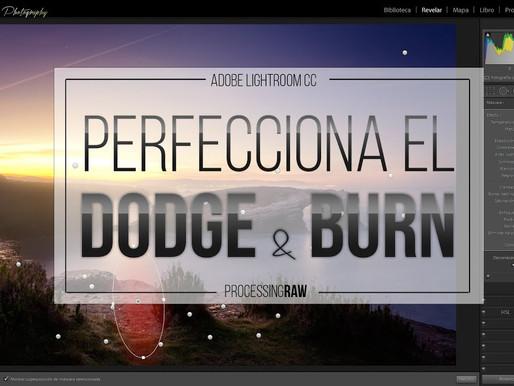 Dodge and Burn en Adobe Lightroom. Por ProcessingRAW