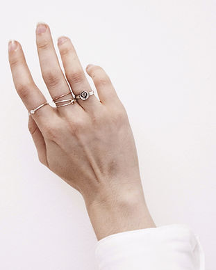 Hand with Rings