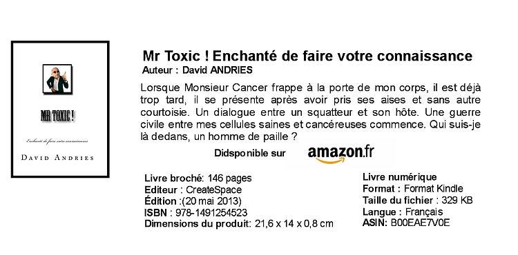 livre sur le cancer.