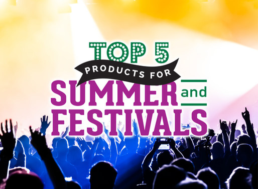 Top 5 Products For Summer and Festivals