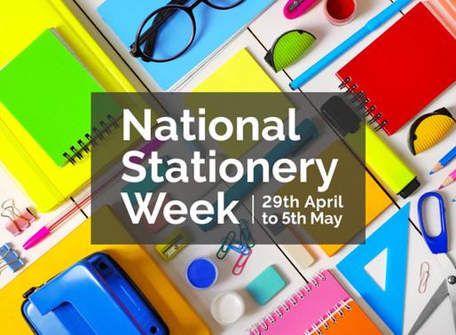 Celebrate National Stationery Week!