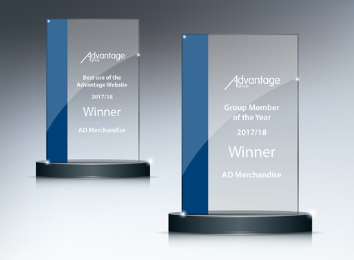 AD Merchandise make history as first Advantage Group double award winners