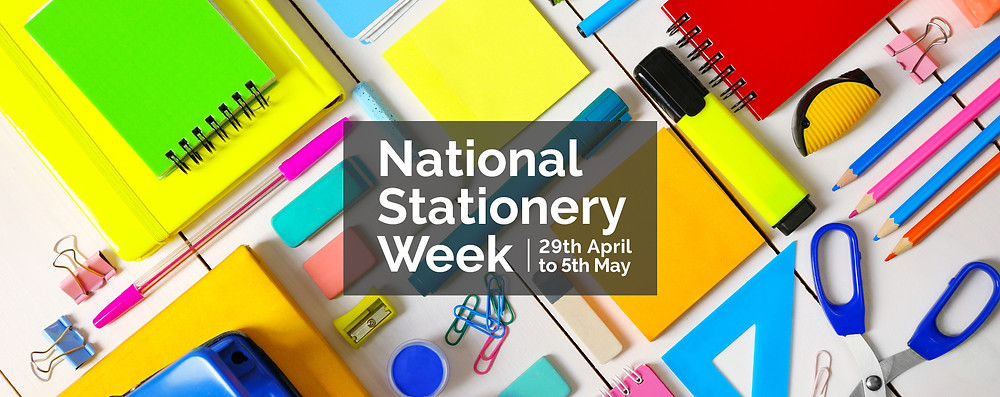 National Stationery Week - 29th April to 5th May 2019