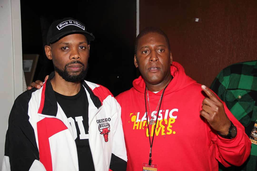 Brother Leonard Omarr Muhammad of Classic Hip Hop Lives with Cormega of Mobb Deep