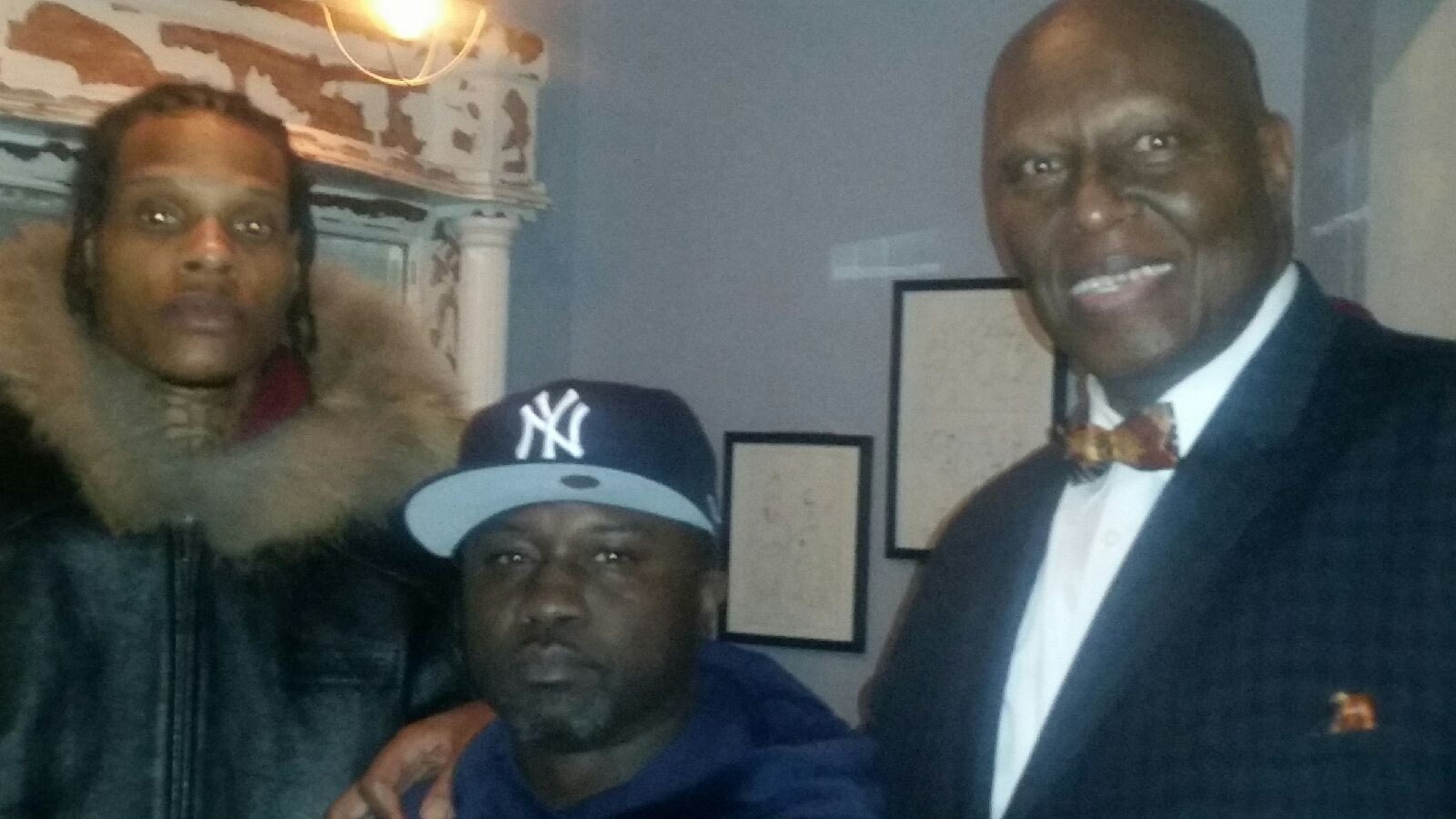 Brother Student Minister Abdullah Muhammad with his son Jaleel aka CutThroat Maniac and Havoc of Mobb Deep
