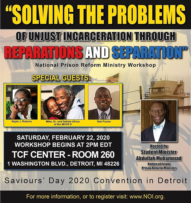 Nation of Islam SD2020 National Prison Reform Ministry Workshopjpg