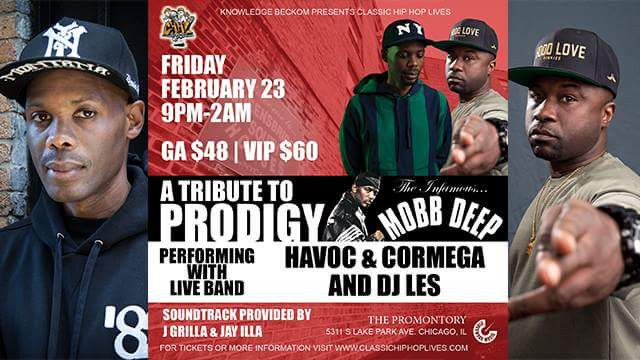 A Tribut to Prodigy Flyer