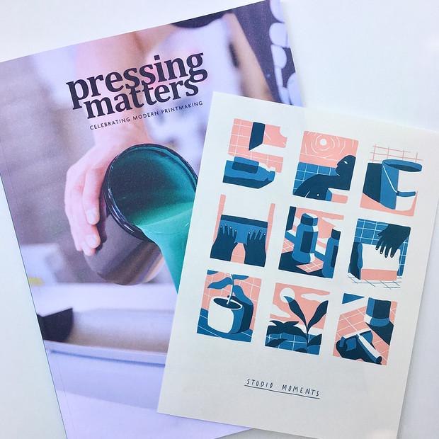 Insert design for Pressing Matters