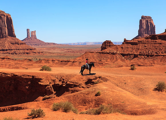 Monument Valley Non-Rider Week Two Deposit