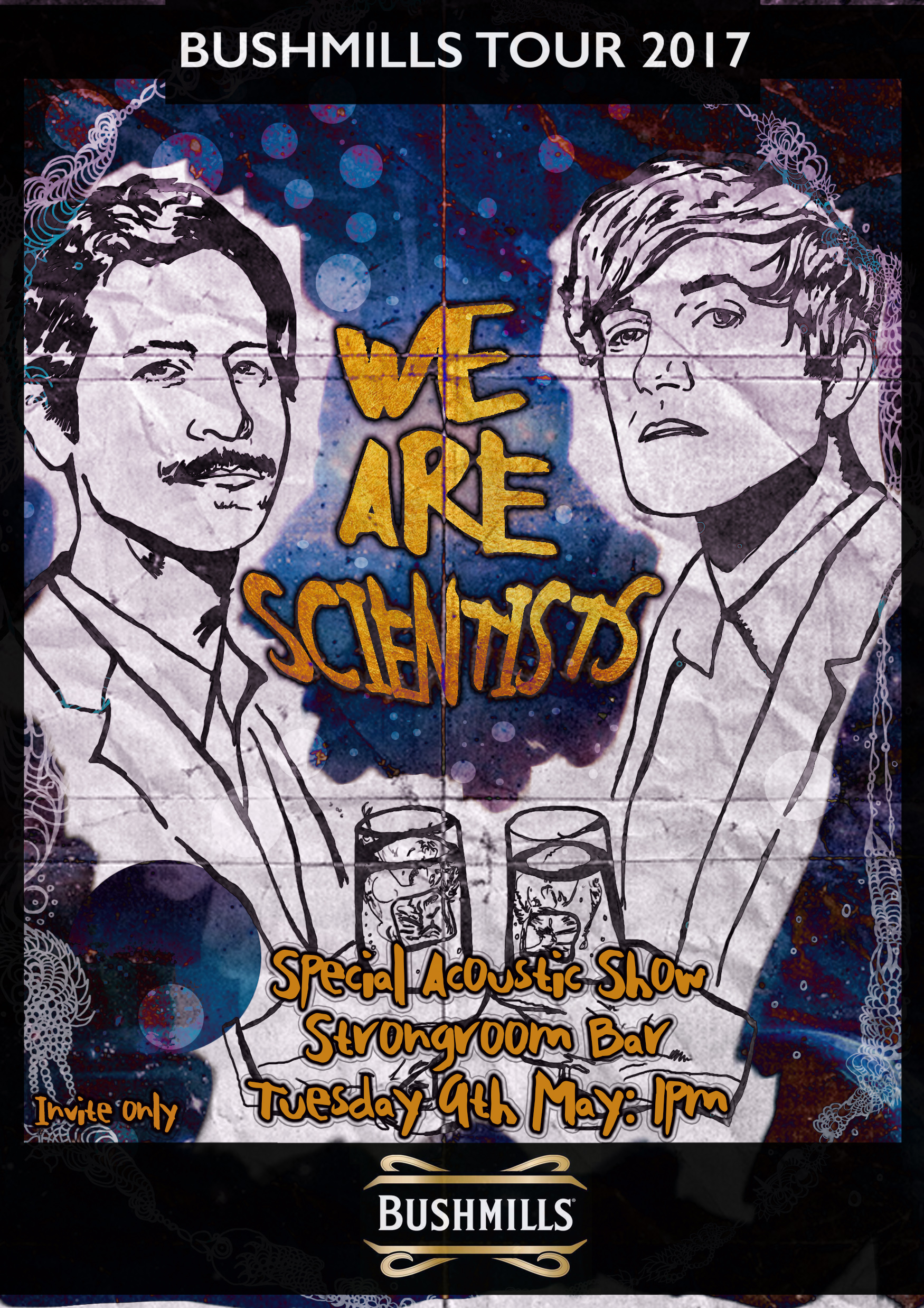 We Are Scientists poster