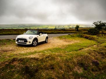 The mini on the moors