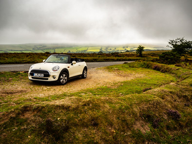 The mini on the moors