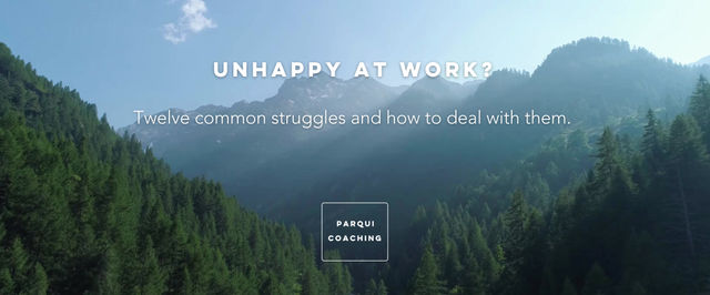 unhappy at work?
