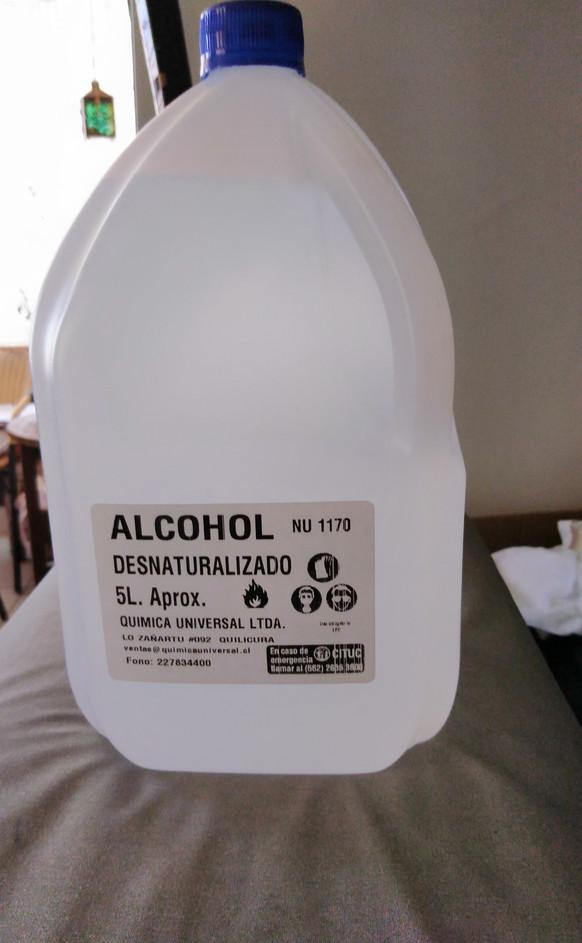 ALCOHOL DESNATURALIZADO