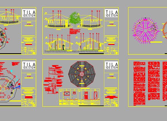 PLANOS COMPLETOS EN PDF Y DWG