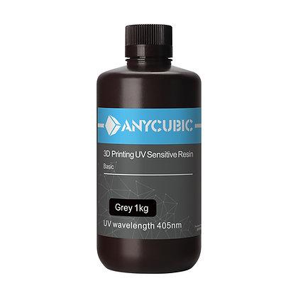 Standard  Anycubic 3d printing UV Resin 1kg Grey