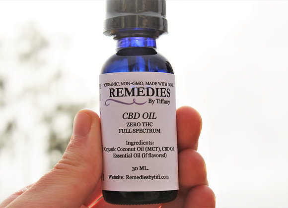 (THC-free) CBD Oil