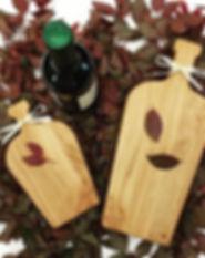 Wine bottle boards! Shaped just like.. Y