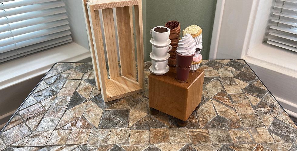 Mini Block and Crate Set - Coffee Break