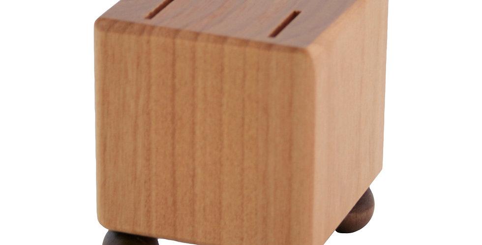 Mini Blocks - Walnut Finish on Feet