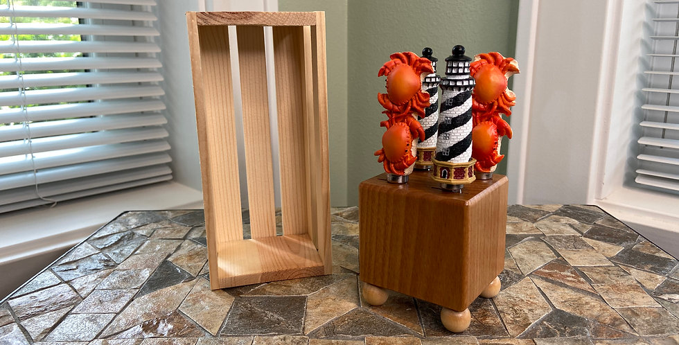 Mini Block and Crate Set - Crab and Lighthouse