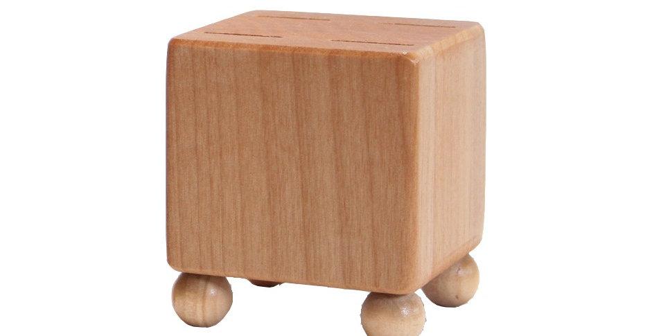 Mini Block - Natural Wood Tones Feet