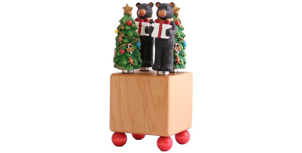 Mini Block Crate Set - Christmas Bears & Trees