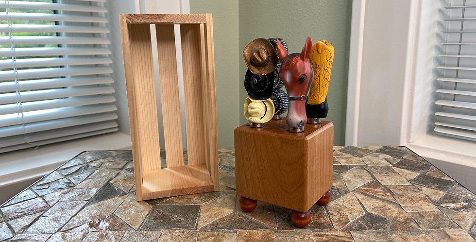 Mini Block and Crate Set - Western