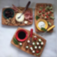 Our appetizer boards are perfect for sna