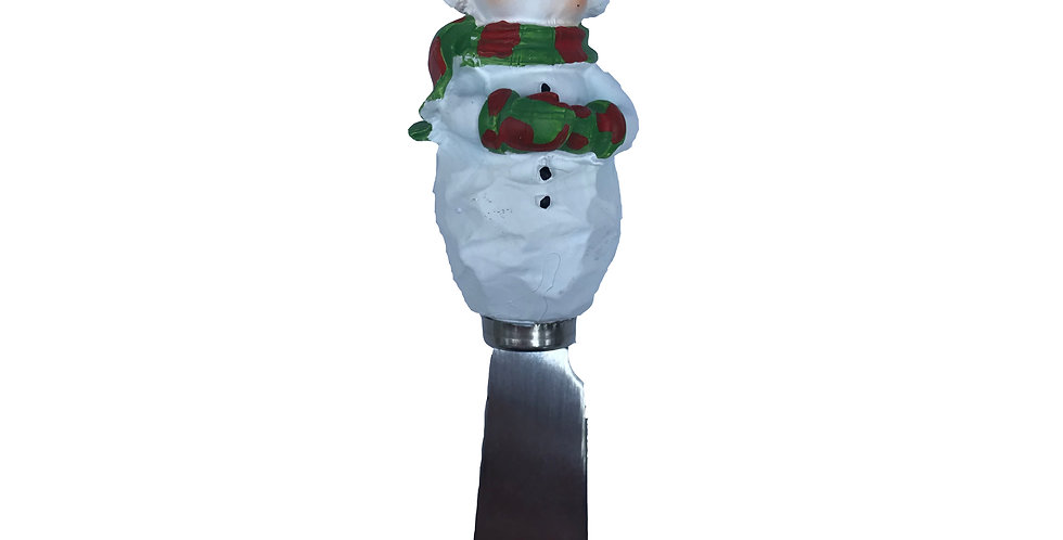 Snowman in Top Hat Spreader
