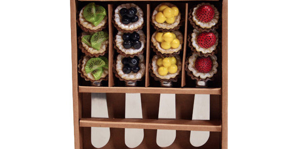 Set of 4 Resin Spreaders - Tarts